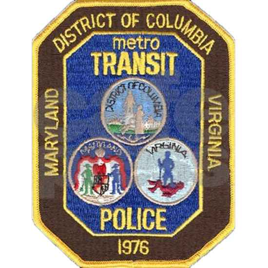 metro transit police badge