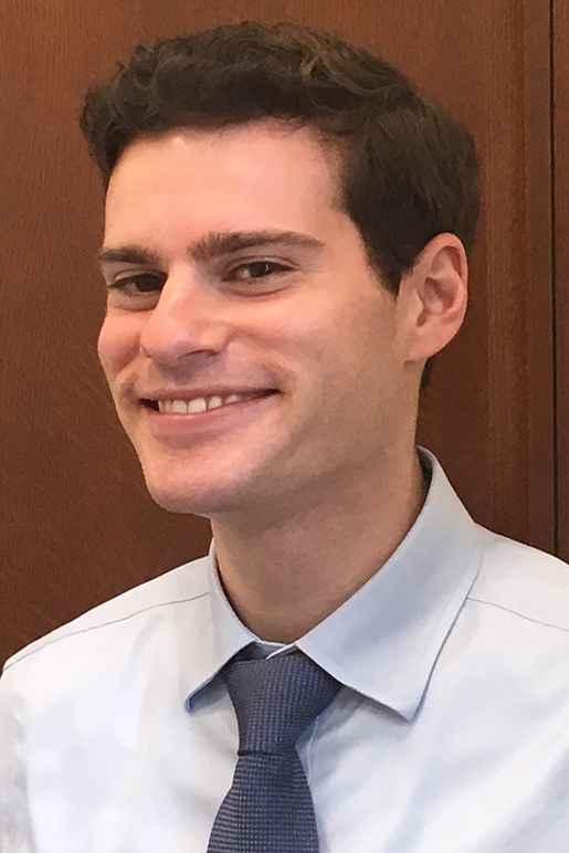 headshot of ACLU-DC legal fellow Michael Perloff