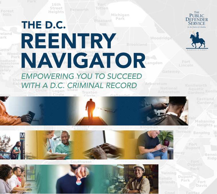 reentry navigator: empowering you to succeed with a D.C. criminal record