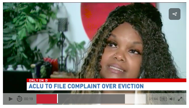 ACLU-DC Filing Complaint in Abusive DC Eviction Case
