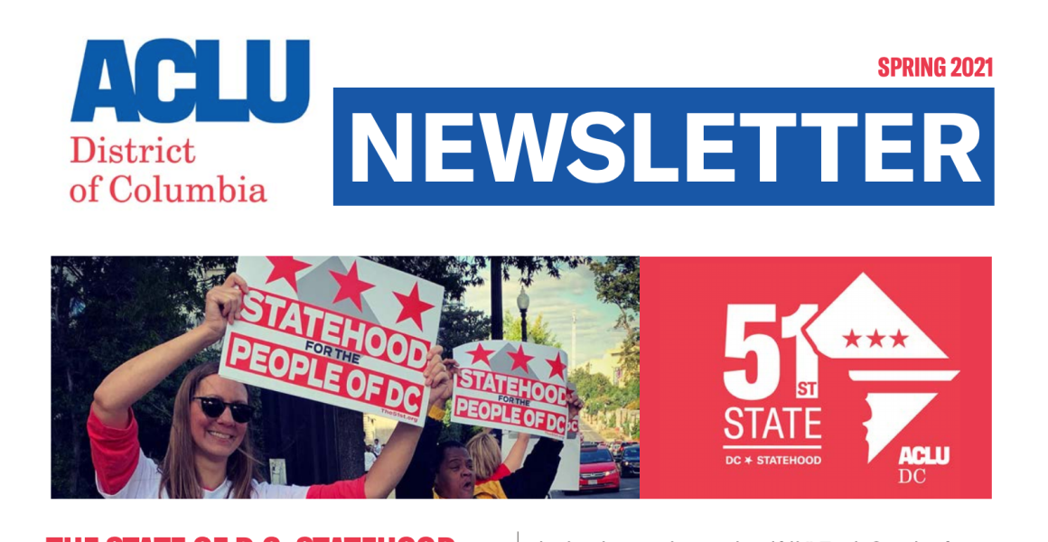 dc statehood newsletter picture
