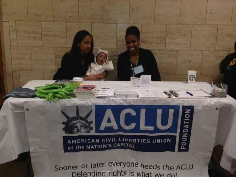 ACLU-DC representing
