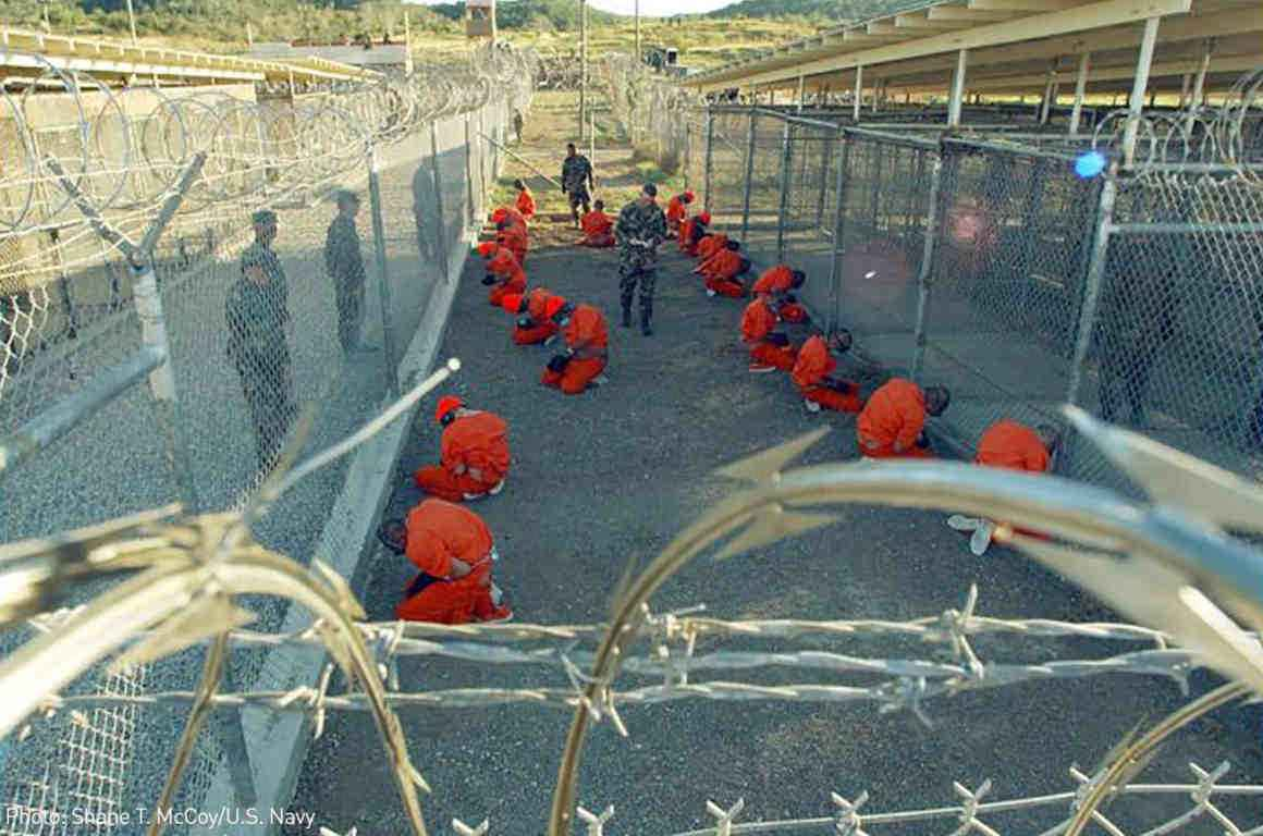 prisoners at Gitmo