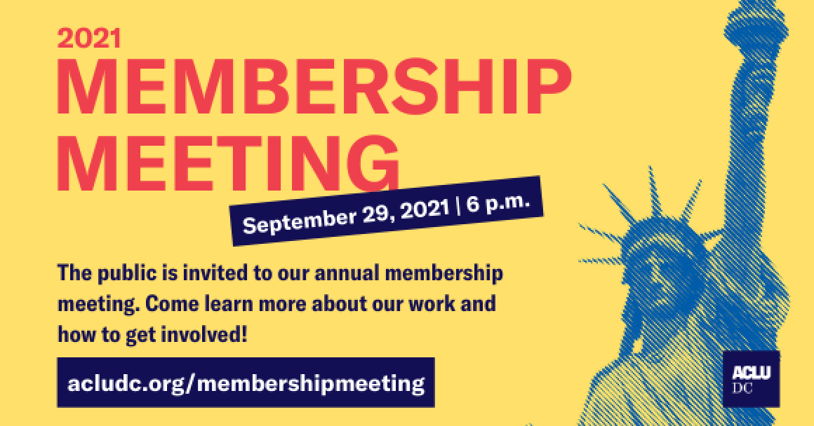 2021 Membership Meeting