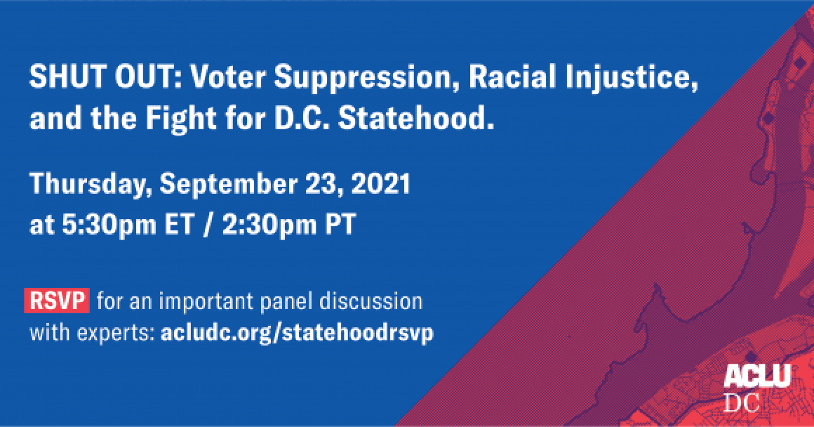 Shut out: Voter Suppression, Racial Injustice, and the Fight for D.C. Statehood